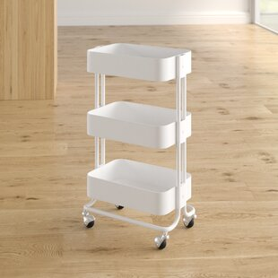 Zadiee 3 Tier Bar Cart by Zipcode Design