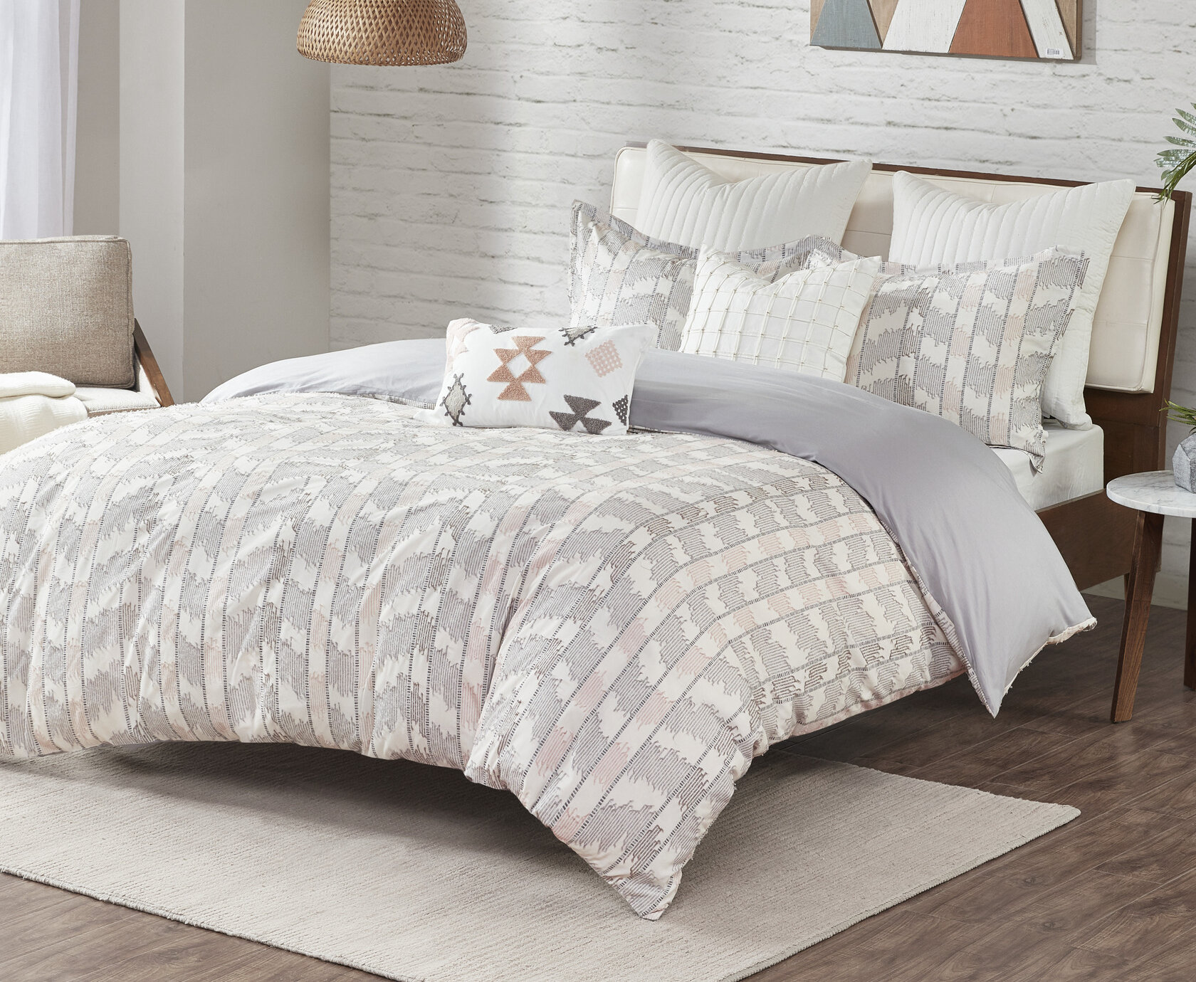 Modern Rustic White Comforters Sets You Ll Love In 2021 Wayfair