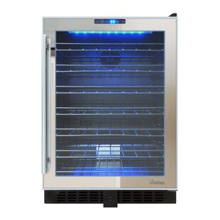 54 Bottle Dual Zone Freestanding Wine Cooler by Vinotemp