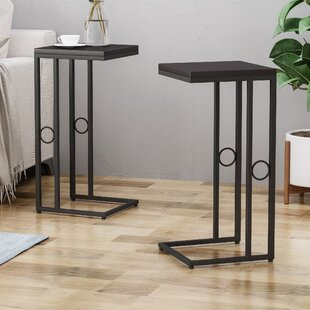 Ginevra Modern 2 Piece End Tables
