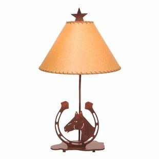 Horseshoe 24 Table Lamp
