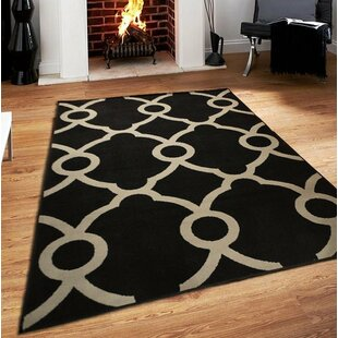 Riemann Black Indoor/Outdoor Area Rug