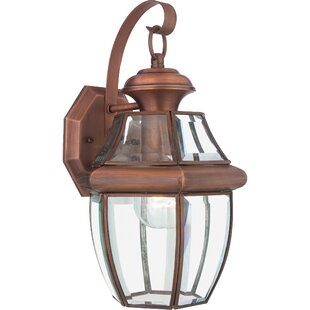 Copper outdoor wall lighting youll love save aloadofball Images