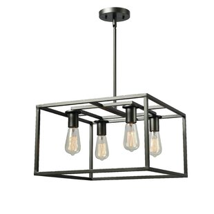 Williston Forge Raeann 4-Light Square/Rectangle Chandelier