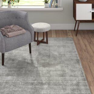 Shine Handwoven Silver Rug by Tom Tailor
