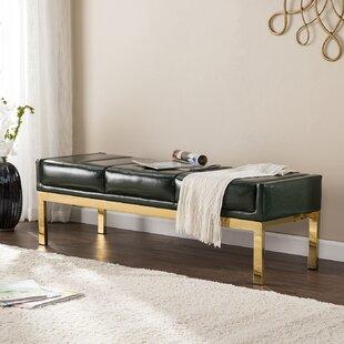 Mercer41 Hixon Upholstered Bench