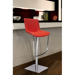 Robin Adjustable Height Swivel Bar Stool Wade Logan
