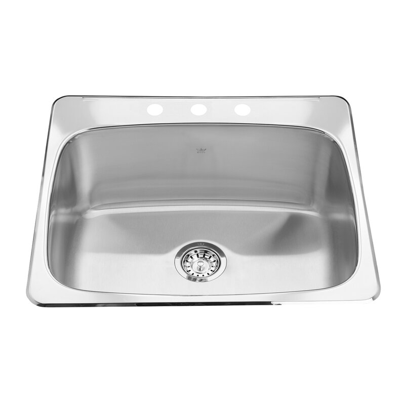 Kindred 25 63 L X 22 06 W Undermount Laundry Sink Wayfair