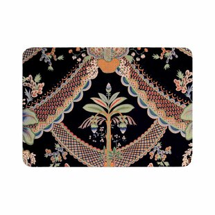 Philip Vintage Paisley Pattern Art Deco Memory Foam Bath Rug By East Urban Home