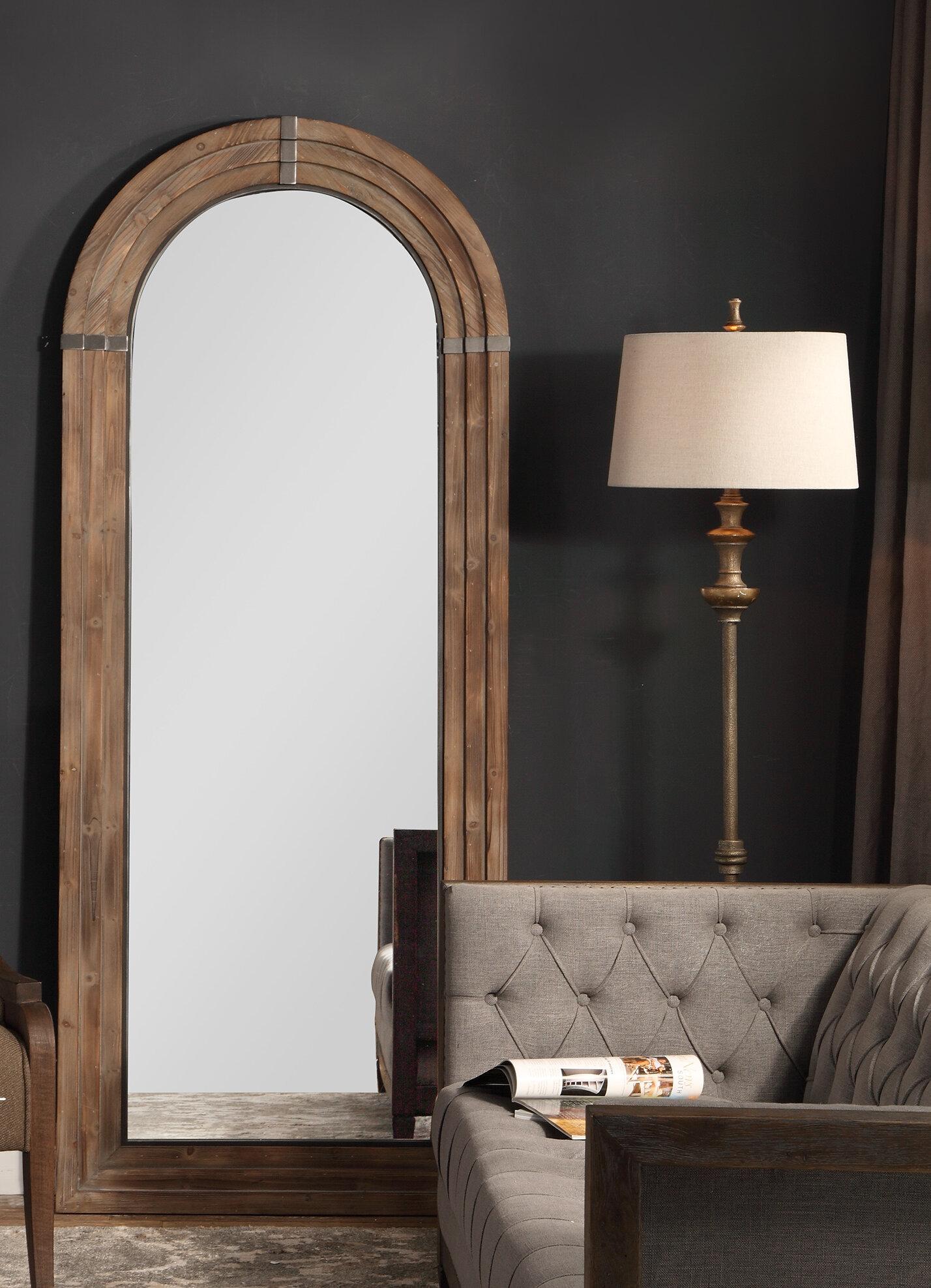 Beveled Glass Floor Full Length Mirrors Joss Main