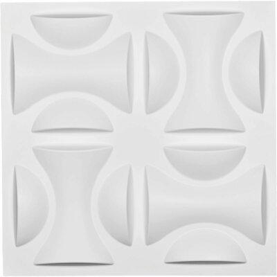 Ekena Millwork York Endurawall Decorative 3D Paintable Wallpaper Panel
