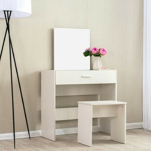Review Dressing Table Set With Mirror