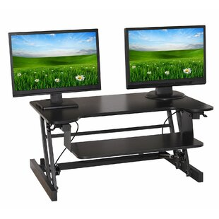 Best Deals Easy Pull Home Office Standing Desk Converter By Symple Stuff