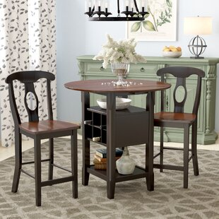 Strope 3 Piece Dining Set August Grove