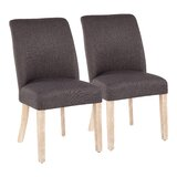 Kinsman Upholstered Dining Chair (Set of 2) by Latitude Run