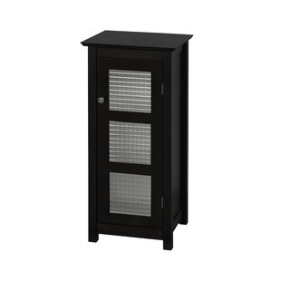 Casselman Floor Glass 1 Door Accent Cabinet by Andover Mills