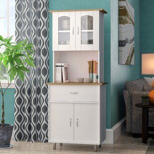 Quon Kitchen Island China Cabinet by Andover Mills