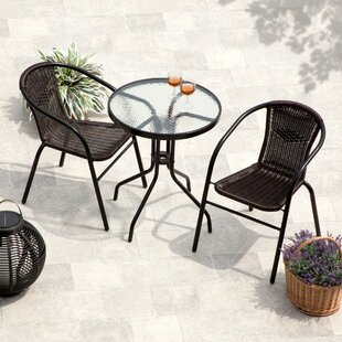 Greenway 3 Piece Bistro Set by Zipcode De..