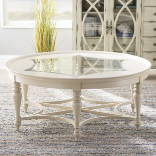Fountainbleau Coffee Table with Tray Top