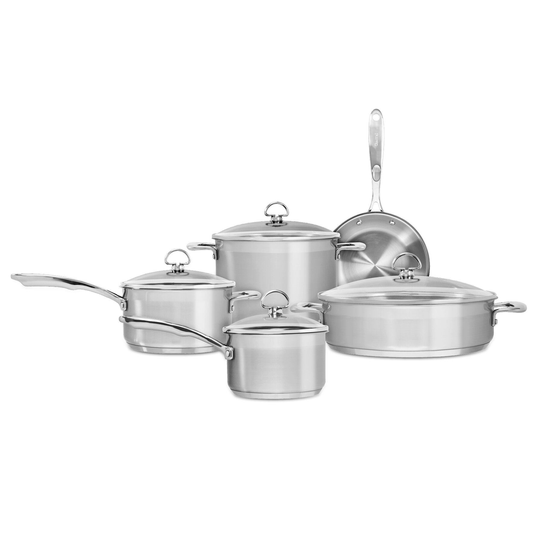Chantal Steamer with Insert Lid Stainless Steel 6 Quart Casserole  New in Box