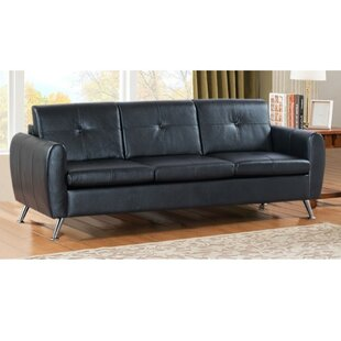 Jahiem Center Button Tufted 3-Seat Sofa