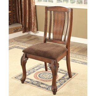Dominey Traditional Side Chair (Set of 2) Astoria Grand