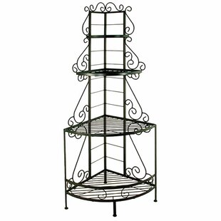 Red Barrel Studio Shamus Wrought Iron Baker's Rack