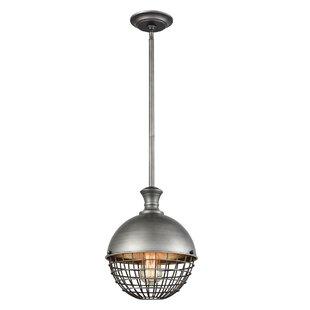Bluebell 1-Light Globe Pendant by Gracie ..