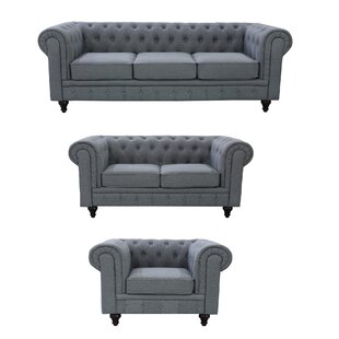Plowman 3 Piece Living Room Set by One Allium Way