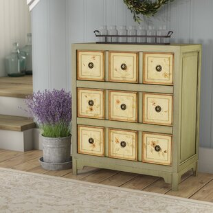 Prager Hand Painted 3 Drawer Chest