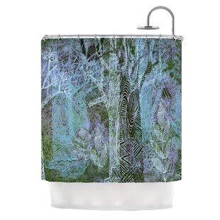 Wild Forest by Marianna Tankelevich Trees Single Shower Curtain