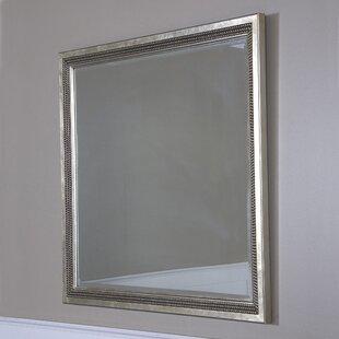 Inexpensive Bronstein Leaf Vanity Mirror ByHouse of Hampton