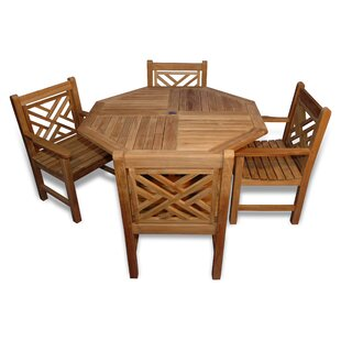 Charleston 5 Piece Teak Dining Set