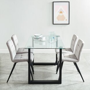 Rosanna Contemporary 5 Piece Dining Set b..