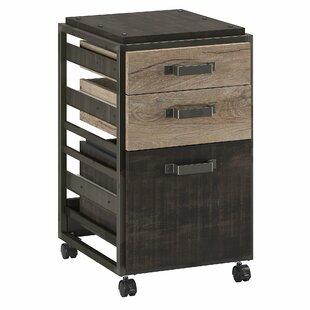 Rosemarie 3-Drawer Vertical Filing Cabinet