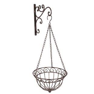 Renhold Round Hanging Basket By Astoria Grand