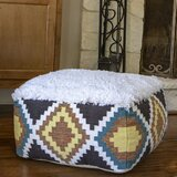 Rymer Southwest Square Pouf by Bungalow Rose