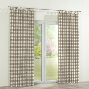 moderne gardinenvorhange eindrucksvollem effekt, gardinen & vorhänge | wayfair.de, Design ideen