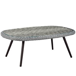 Thayne Wicker Dining Table