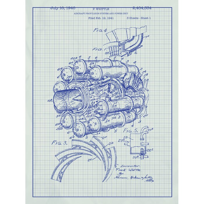 Inked and screened airplane engine blueprint graphic art reviews airplane engine blueprint graphic art malvernweather Image collections