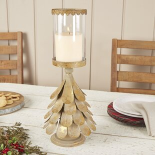 quickview - Christmas Log Candle Holder Decorations
