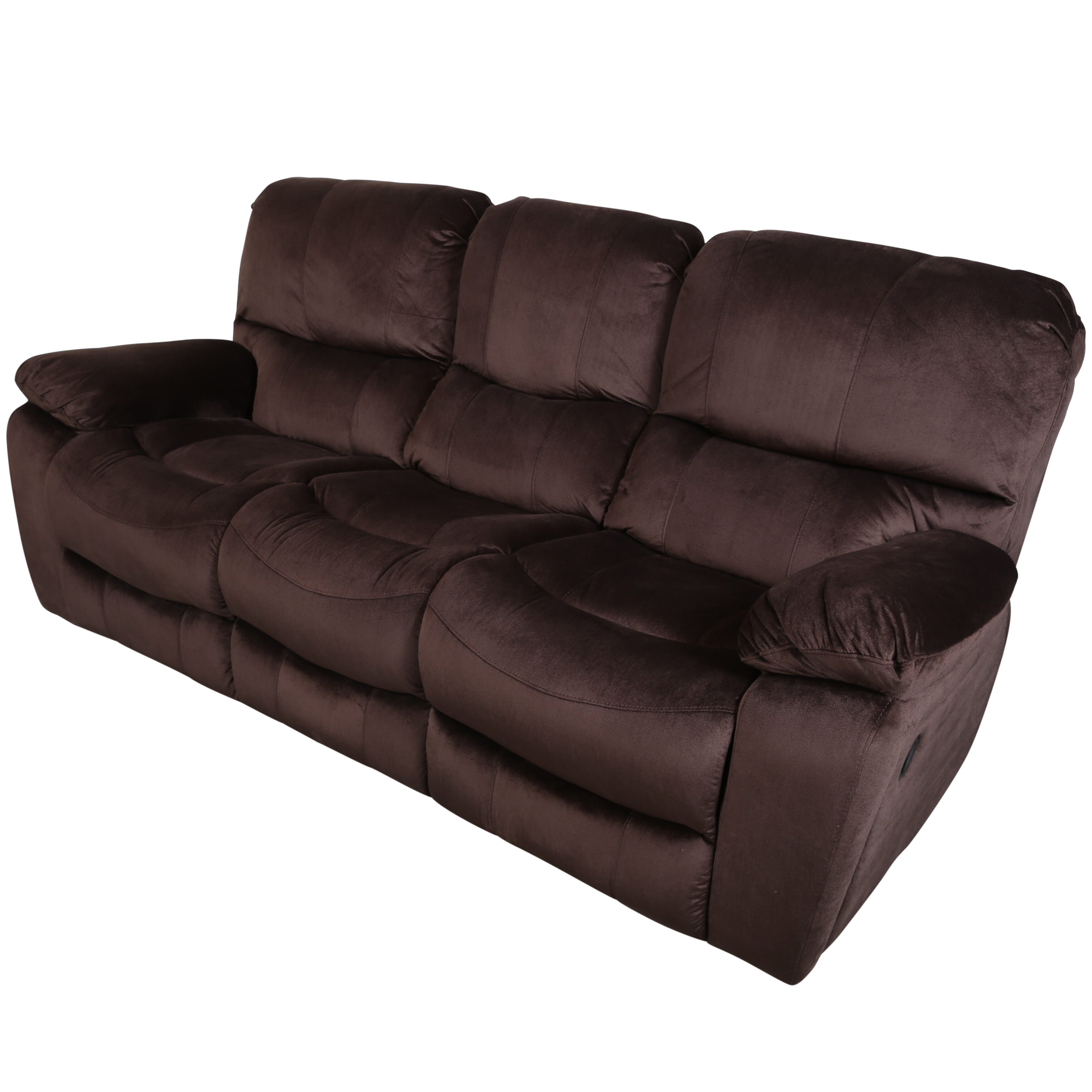 Rashida 3 Seats Reclining Sofa