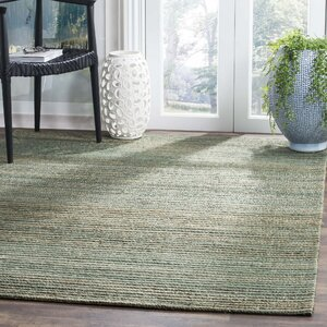 Abia Hand-Woven Sage Area Rug