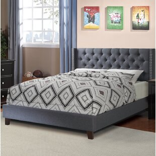 Settle Upholstered Platform Bed by Everly Quinn