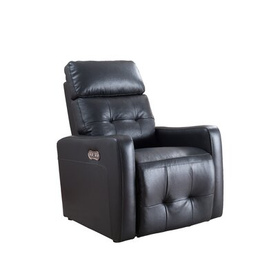Black Leather Recliners You Ll Love In 2019 Wayfair