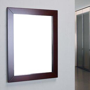 Brayden Studio Piccirillo Modern Framed Bathroom Wall Mirror