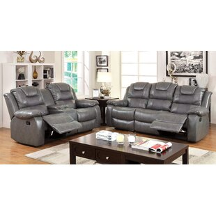 Hokku Designs Harrison Reclining Configurable Living Room Set