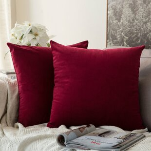 Red Throw Pillows Decorative