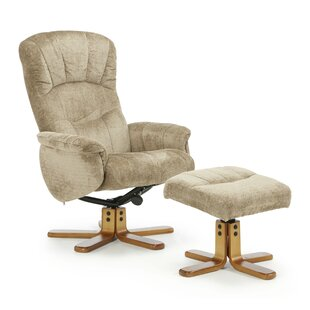 Lyonville Recliner And Footstool By Mercury Row