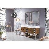 Radersburg 59 Double Bathroom Vanity Set by Wrought Studio